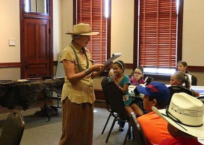 Day 1: Cowboy Camp Program Director Candy Glidden welcomes campers to the first day of Cowboy Camp 2016.