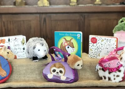 Children's games and plushes