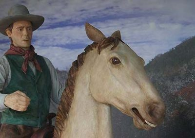 Thornton Diorama – Closeup of Horseman