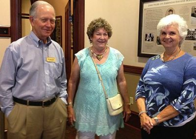 From left: Bill and Nancy Blackwell with Mayor Sara Post Meyer.