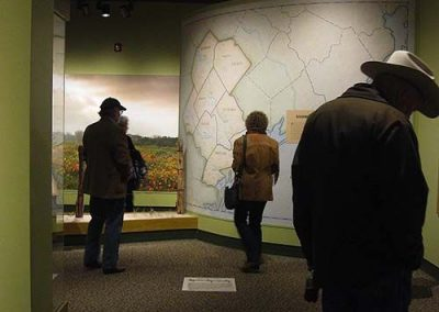 Visitors and Map