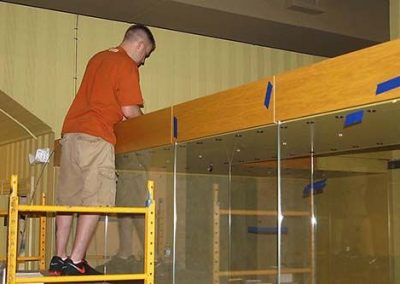Display Cases Installation